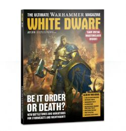 WHITE DWARF -  JULY 2018