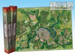 WINGS OF GLORY -  CITY (68CM X 98CM) -  GAME MAT