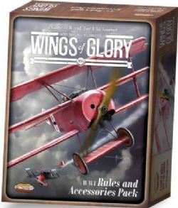 WINGS OF GLORY -  WW1 RULES AND ACCESSORIES PACK (ANGLAIS)