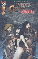 WITCHBLADE - MAGDALENA - VAMPIRELLA -  COMIC SIGNE PAR ARTHUR ADAMS - OS 2004 (200 EXP)