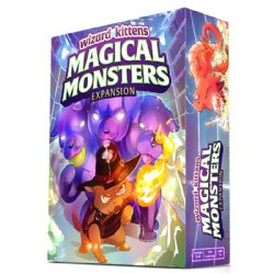 WIZARD KITTENS -  MAGICAL MONSTERS (ANGLAIS)