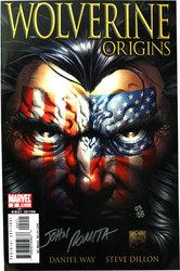 WOLVERINE ORIGINS -  COMIC SIGNE PAR JOHN ROMITA SR. (98 COPIES) -#2