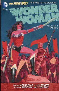 WONDER WOMAN -  BONES HC -  WONDER WOMAN: THE NEW 52! - LIVRE USAGÉ 06