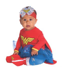 WONDER WOMAN -  COSTUME DE WONDER WOMAN (JEUNE ENFANT - 6-12 MOIS)