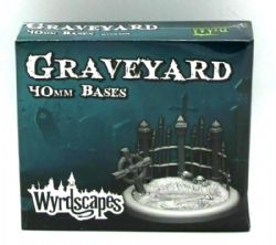WYRDSCAPES -  GRAVEYARD BASES (2X40MM)