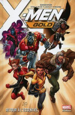 X-MEN -  RETOUR À L'ESSENTIEL -  GOLD 01
