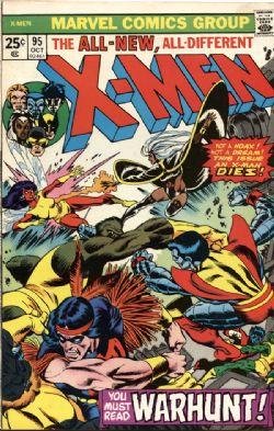 X-MEN -  X-MEN (1975) - VERY FINE (-) - 7.5 95