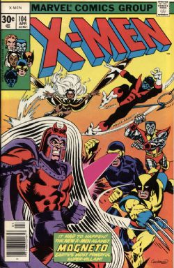 X-MEN -  X-MEN (1977) - VERY FINE - 8.0 104