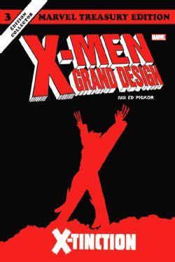 X-MEN -  X-TINCTION (EDITION COLLECTOR) -  X-MEN : GRAND DESIGN 03