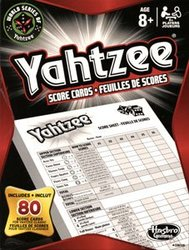 YAHTZEE -  FEUILLES DE POINTAGE (80)