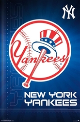 YANKEES DE NEW YORK -  AFFICHE