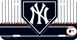 YANKEES DE NEW YORK -  PLAQUE D'IMMATRICULATION