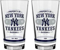 YANKEES DE NEW YORK -  VERRE 16 OZ