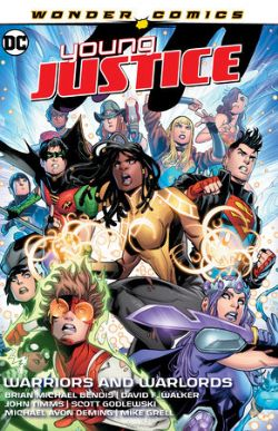 YOUNG JUSTICE -  WARRIORS AND WARLORDS