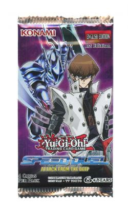 YU-GI-OH! -  ATTACK FROM THE DEEP - PAQUET RECHARGE (P4/B36) -  SPEED DUEL