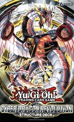 YU-GI-OH! -  CYBER DRAGON REVOLUTION STRUCTURE DECK (ANGLAIS)