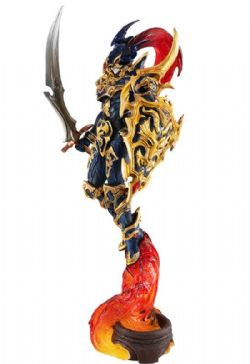 YU-GI-OH! -  FIGURINE -  BLACK LUSTER SOLDIER; CHAOS SOLDIER
