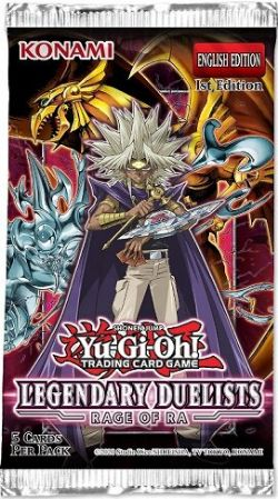 YU-GI-OH! -  LEGENDARY DUELISTS BOOSTER PACK (ANGLAIS) -  RAGE OF RA