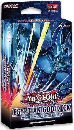 YU-GI-OH! -  OBELISK THE TORMENTOR - EGYPTIAN GOD STRUCTURE DECK (ANGLAIS) -  1ST EDITION
