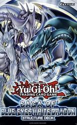 YU-GI-OH! -  SAGA OF BLUE-EYES WHITE DRAGON STRUCTURE DECK (ANGLAIS)