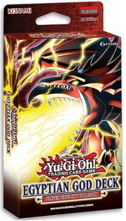 YU-GI-OH! -  SLIFER THE SKY DRAGON - EGYPTIAN GOD STRUCTURE DECK (ANGLAIS) -  1ST EDITION