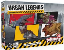 ZOMBICIDE 2ND EDITION -  URBAN LEGENDS ABOMINATIONS (ANGLAIS)