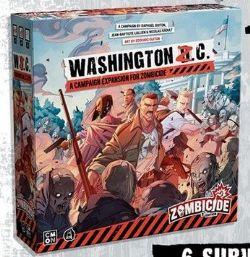 ZOMBICIDE 2ND EDITION -  WASHINGTON Z. C. (ANGLAIS)