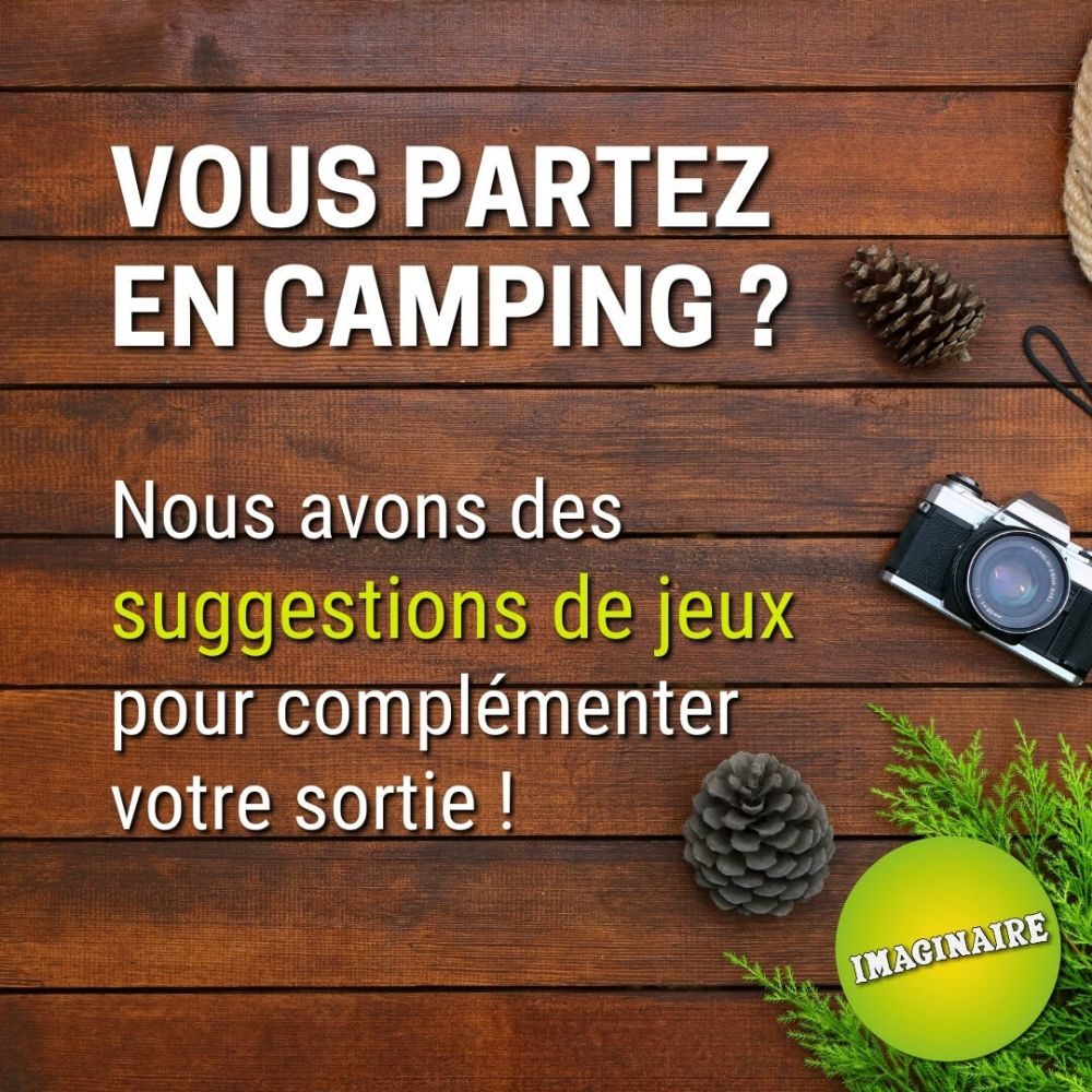 Suggestions pour le camping !
