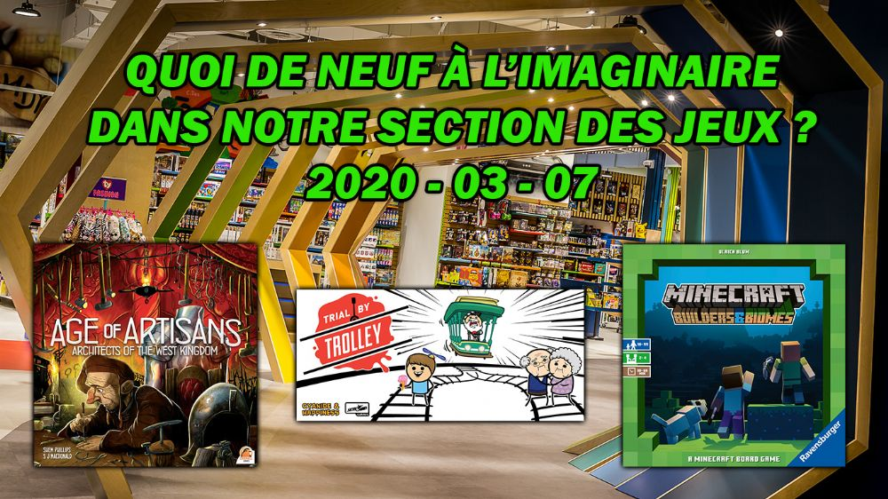 Nouveautés de la semaine / News of the week (Gaming)